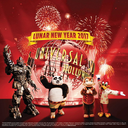 KUNG FU PANDA crew joins regular Lunar New Year festivities at Universal Studios Hollywood