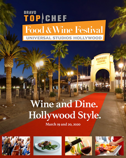 Universal Studios Hollywood launches 'Bravo's Top Chef Food & Wine Festival'