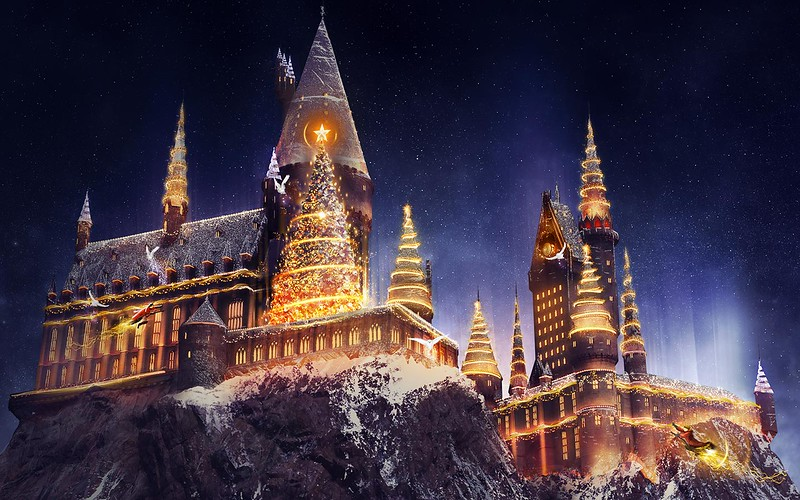 Are you ready for Christmas at Hogwarts?