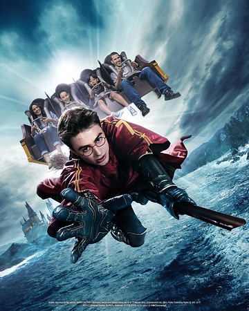 4K HD, 120 FPS conversion for Universal Hollywood's HARRY POTTER AND THE FORBIDDEN JOURNEY