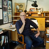 Glen Keane at his animation desk<br /> Monica Hervey, 2017