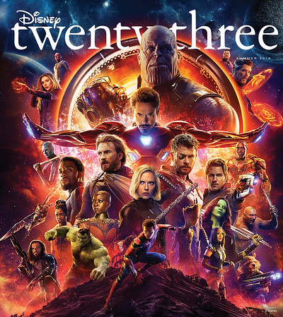 SUMMER 2018 issue of 'Disney twenty-three' promises big trips to the movies and beyond