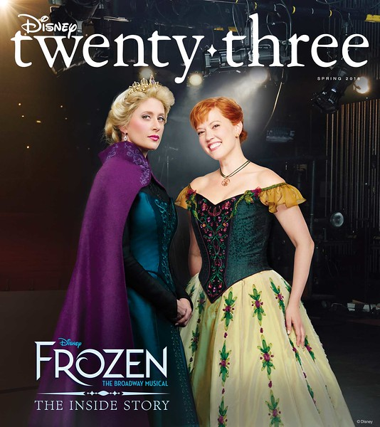 Spring 2018 issue of 'Disney twenty-three' brings FROZEN cover plus upcoming film peeks and more