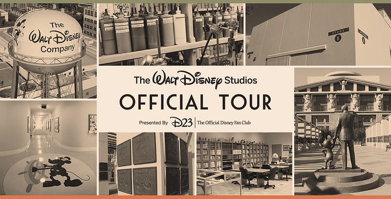 EVENT: D23 members have the chance to tour the Walt Disney Studio
