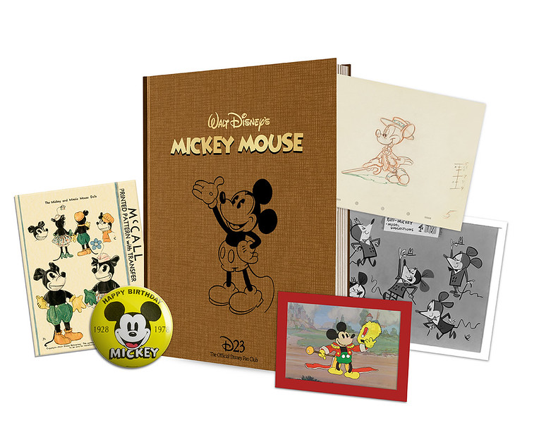 Mickey Mouse to feature in 23 facsimile gifts for D23 Gold Members in 2018