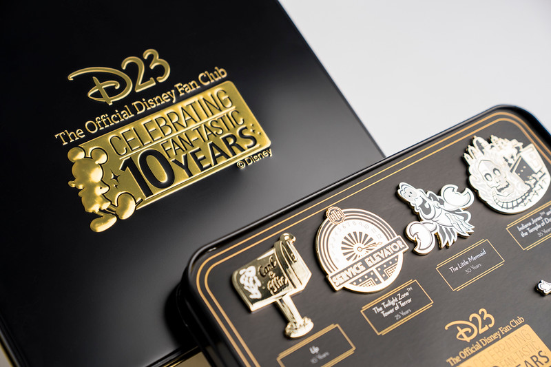 FIRST LOOK: Beautiful anniversary pins featured in 2019 Disney D23 Membership Gift