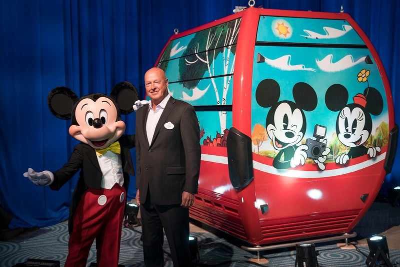 FIRST LOOK: New DISNEY SKYLINER gondola showcased at Destination D