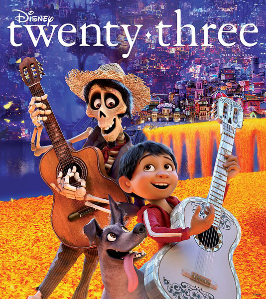 Disney twenty-three magazine will go behind the scenes of COCO, THE LAST JEDI, and more
