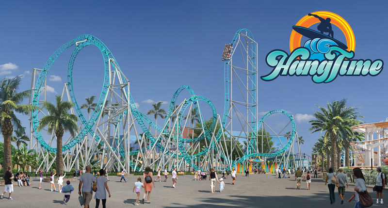 WATCH: Teaser trailer for HANGTIME which debuts summer 2018 at Knott's Berry Farm