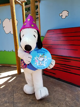 Snoopy celebrates his birthday with summer fun at Knott's Berry Farm