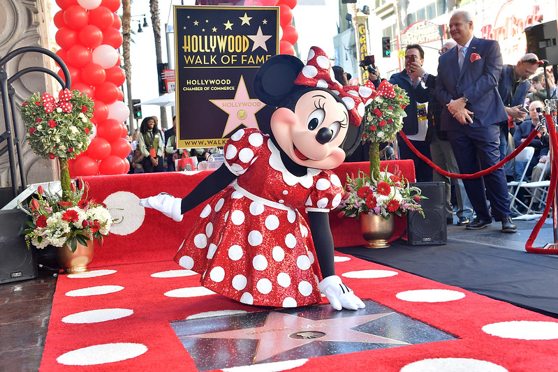 Minnie Mouse finally gets star on the Hollywood Walk of Fame