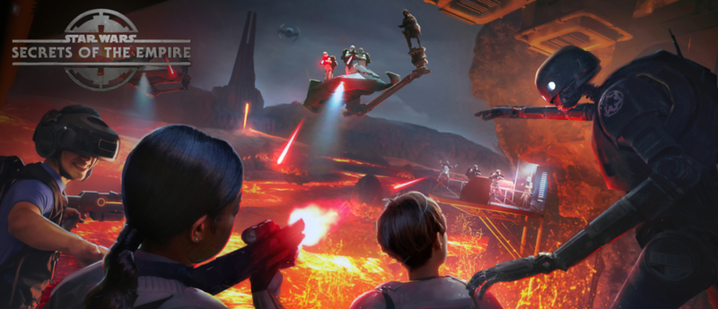 STAR WARS: SECRETS OF THE EMPIRE promises multi-sensory VR experience at Disneyland Resort, WDW