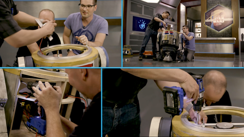 Star Wars engineers construct real-life helper droid and more in new SCIENCE AND STAR WARS