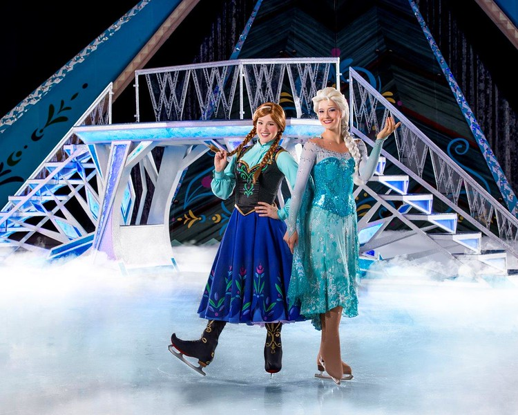 'Disney On Ice presents Frozen' sets a chill over South California in April