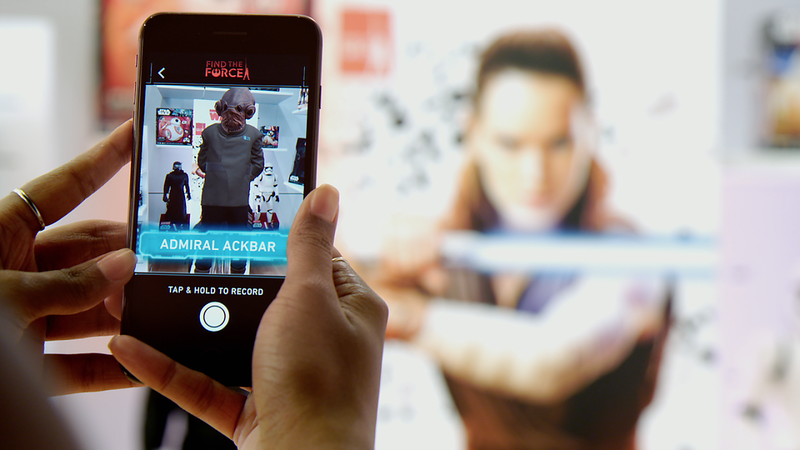 FIND THE FORCE augmented reality event to debut with Force Friday II