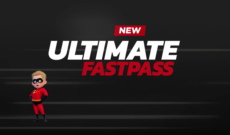 New up-charge ULTIMATE FASTPASS gives you speedy access without return times, DLP