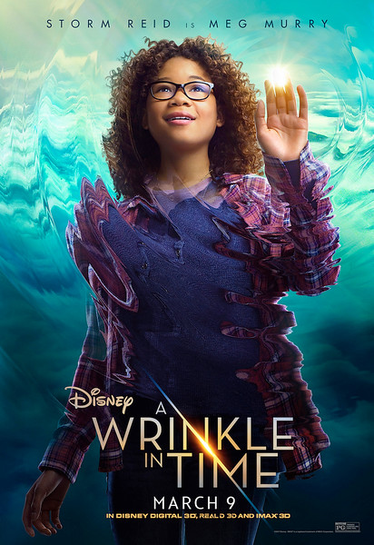 A WRINKLE IN TIME posters bring darkness and light