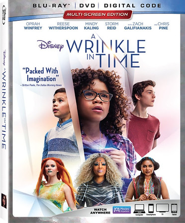 A WRINKLE IN TIME coming soon for home release