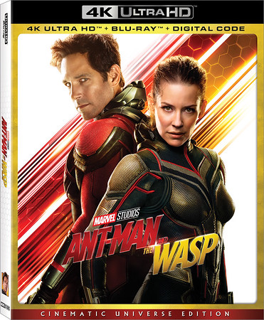 ANT-MAN AND THE WASP flying to home release in October