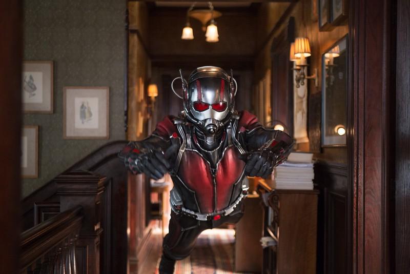 Marvel's Ant-Man<br /> <br /> Scott Lang/Ant-Man (Paul Rudd) <br /> <br /> Photo Credit: Zade Rosenthal<br /> <br /> © Marvel 2014