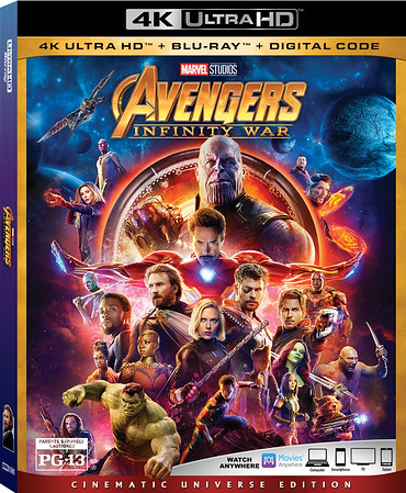 AVENGERS: INFINITY WAR now available on digital, Blu-ray on August 14