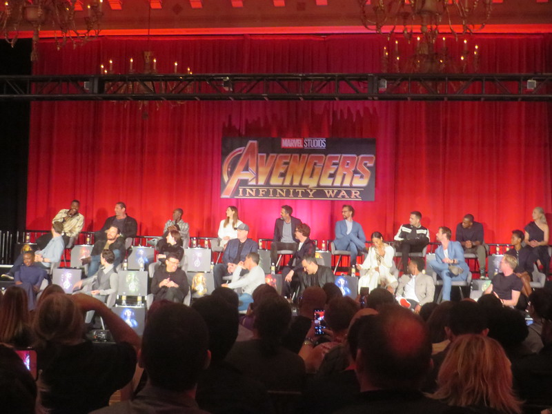 Hype is real for AVENGERS: INFINITY WAR, check out these press conference hijinks