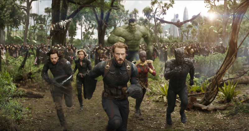 Marvel teases AVENGERS: INFINITY WAR during the Big Game