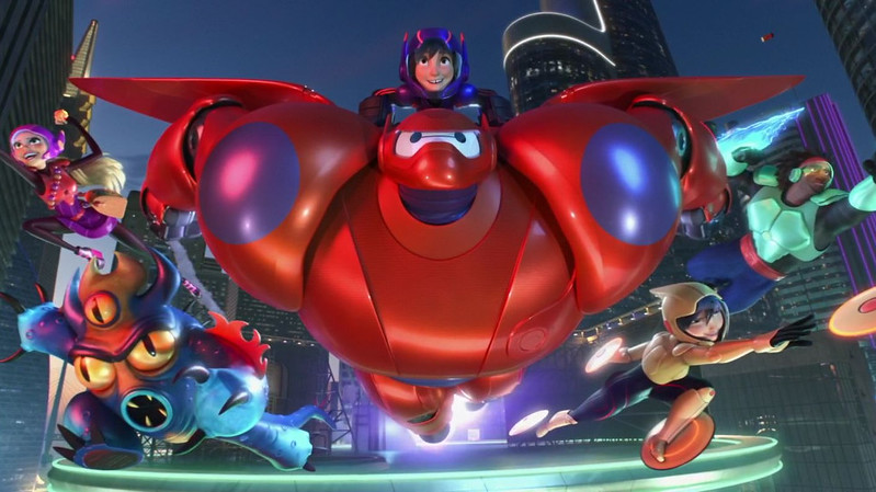 BIG HERO 6: THE SERIES opening title sequence gives peek at animation style