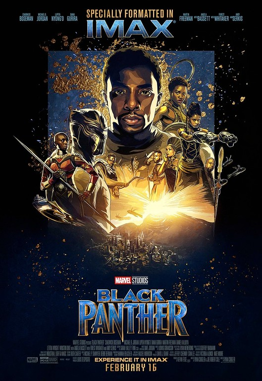 Exclusive BLACK PANTHER poster artwork for IMAX, Regal