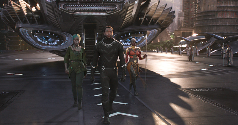 BLACK PANTHER costumes and more on display at the El Capitan Theatre