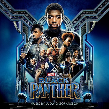 BLACK PANTHER digital score album releases Friday