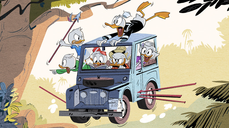 DUCKTALES ranked as #1 animated series launch in over two years for DisneyXD