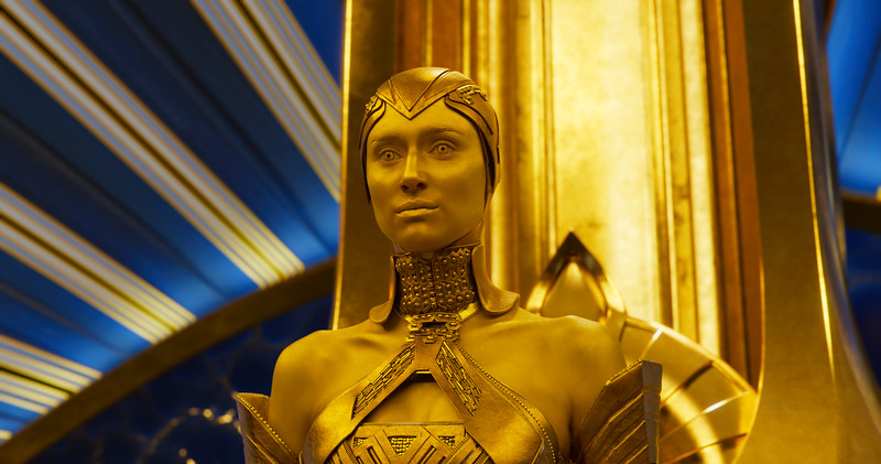 Guardians Of The Galaxy Vol. 2<br /> <br /> Ayesha (Elizabeth Debicki)<br /> <br /> Ph: Film Frame<br /> <br /> ©Marvel Studios 2017