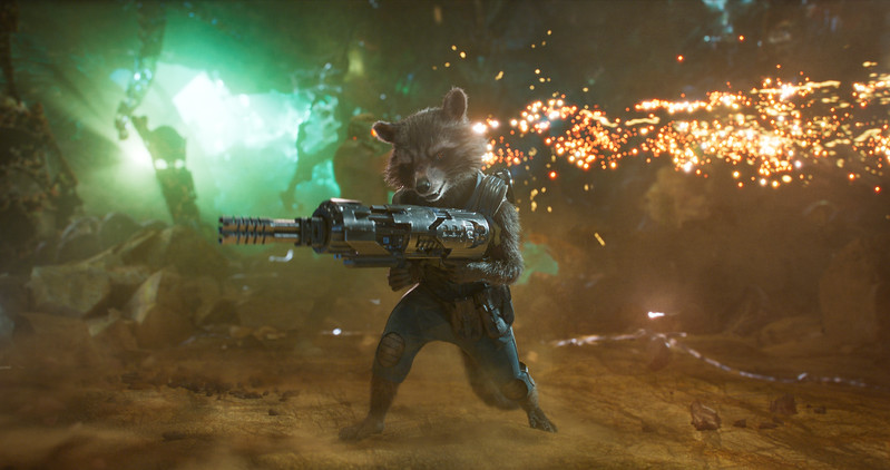 Guardians Of The Galaxy Vol. 2<br /> <br /> Rocket (Voiced by Bradley Cooper)<br /> <br /> Ph: Film Frame<br /> <br /> ©Marvel Studios 2017