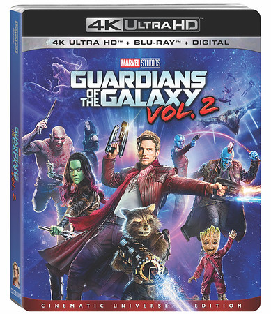 GUARDIANS OF THE GALAXY VOL. 2 drops on home market from August 8