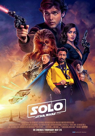 New UK poster for SOLO is a bit 'expected'