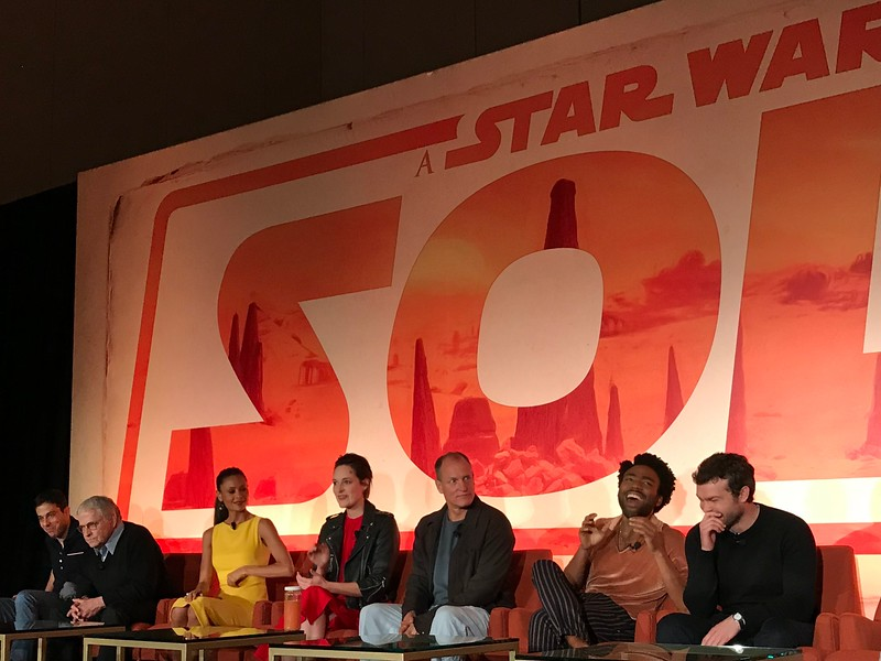 Harrison Ford loves Alden Ehrenreich, plus 6 other things we learned from the SOLO press conference