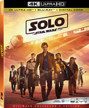 SOLO: A STAR WARS STORY home release lands in September