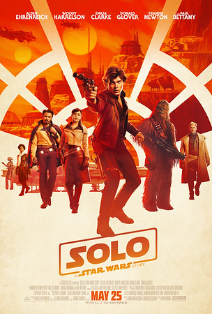 Awesome new SOLO poster launches with new trailer, stills