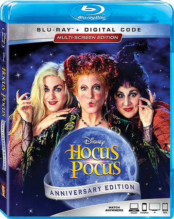 HOCUS POCUS 25th Anniversary Blu-ray and Digital lands in time for Halloween!