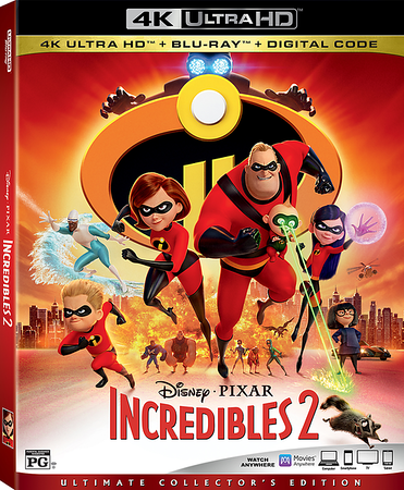 INCREDIBLES 2 powers through to home release starting in October
