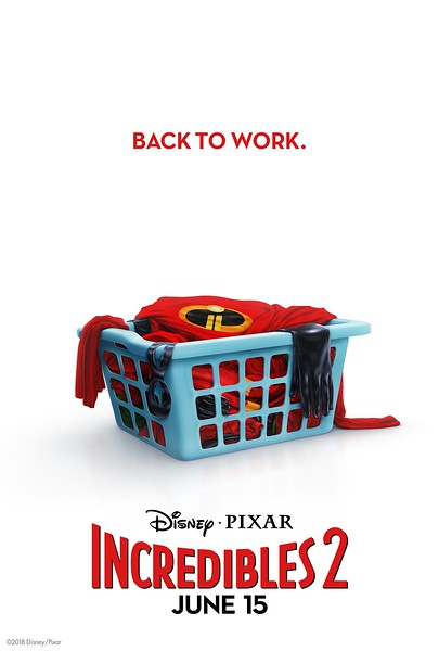 Get back to work with awesome INCREDIBLES 2 teaser poster