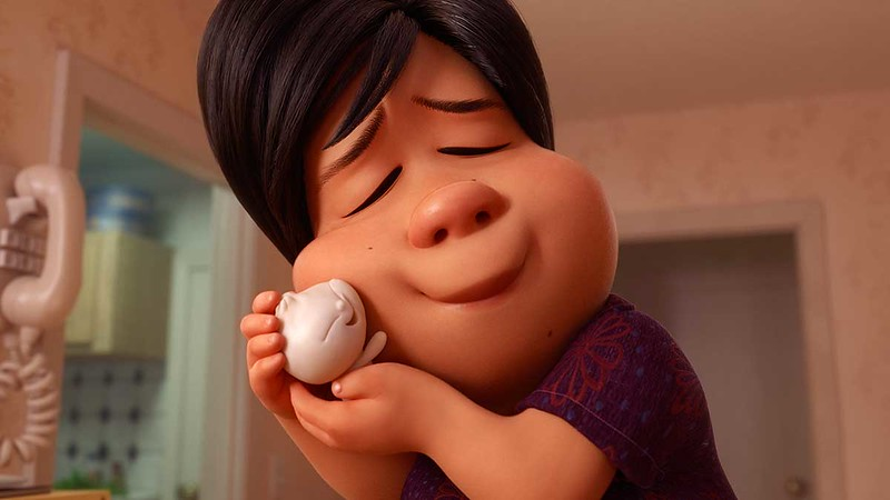 'Bao' includes Chinese character, an adorable dumpling, and Pixar's first female director of a short