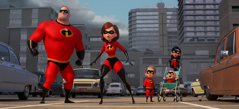 First sneak peek trailer for INCREDIBLES 2 released during Olympics