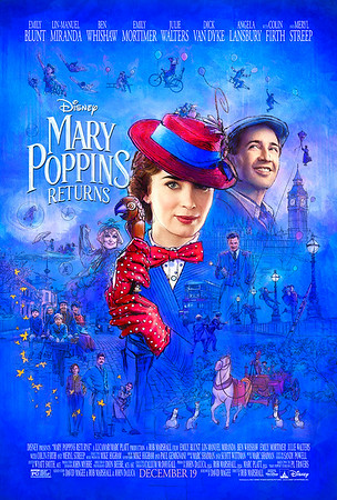 MARY POPPINS RETURNS debuts dazzling new trailer, poster