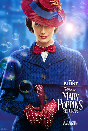 MARY POPPINS RETURNS has some real character; new trailer, posters