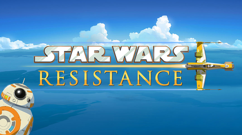 New STAR WARS RESISTANCE animated series promises cameos by Poe Dameron and Captain Phasma