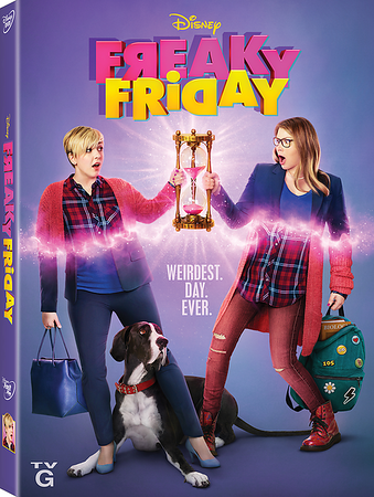 FREAKY FRIDAY every day with home release of upcoming DCOM