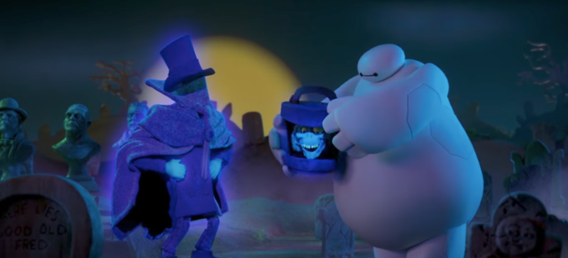 Disneyland's Haunted Mansion featured in three animated promos on Disney XD