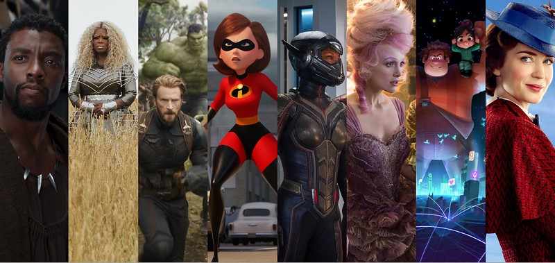 Complete look at Disney's 2018 film slate